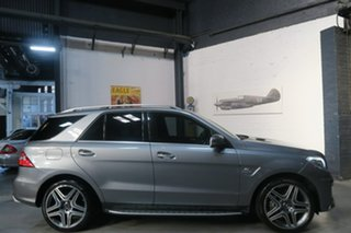 2012 Mercedes-Benz M-Class W166 ML63 AMG SPEEDSHIFT DCT Grey 7 Speed Sports Automatic Dual Clutch.