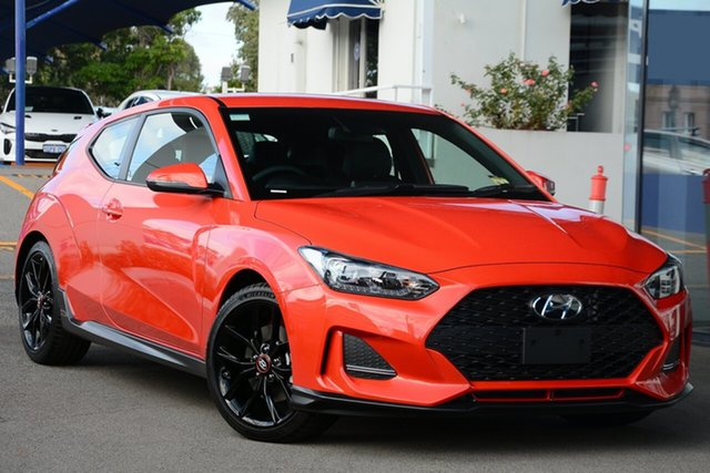 New Hyundai Veloster JS MY20 Turbo Coupe D-CT, 2019 Hyundai Veloster JS MY20 Turbo Coupe D-CT Chalk White 7 Speed Sports Automatic Dual Clutch