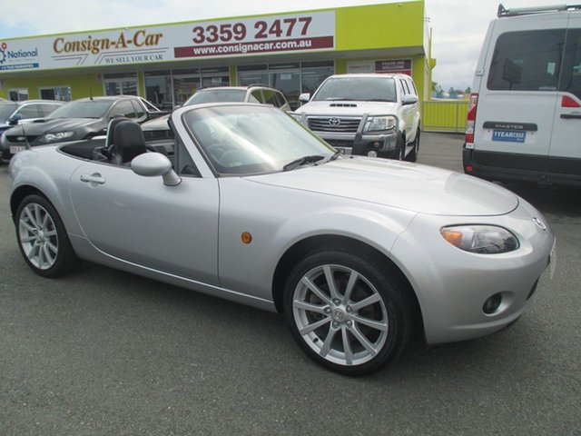 Used Mazda MX-5 NC30F1 MY07 Touring, 2008 Mazda MX-5 NC30F1 MY07 Touring Silver 6 Speed Manual Softtop