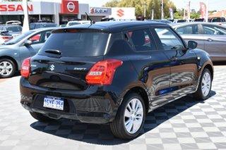 2020 Suzuki Swift AZ GL Navigator Super Black 1 Speed Constant Variable Hatchback