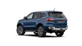 2020 Ford Everest UA II 2020.75MY Titanium Deep Crystal Blue 10 Speed Sports Automatic SUV