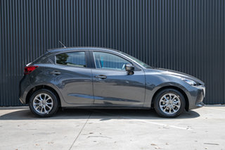 2019 Mazda 2 DJ2HAA G15 SKYACTIV-Drive Pure Machine Grey 6 Speed Sports Automatic Hatchback.