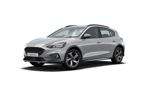 2019 Ford Focus SA 2020.25MY Active Moondust Silver 8 Speed Automatic Hatchback.