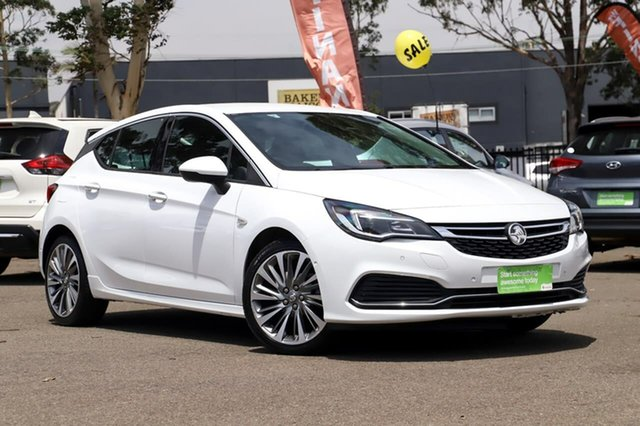 Used Holden Astra BK MY18.5 RS-V, 2018 Holden Astra BK MY18.5 RS-V White 6 Speed Sports Automatic Hatchback