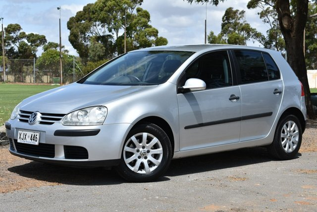 Used Volkswagen Golf V Comfortline, 2004 Volkswagen Golf V Comfortline Silver 5 Speed Manual Hatchback