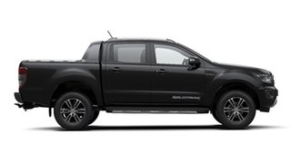2020 Ford Ranger PX MkIII 2020.25MY Wildtrak Shadow Black 6 Speed Sports Automatic.