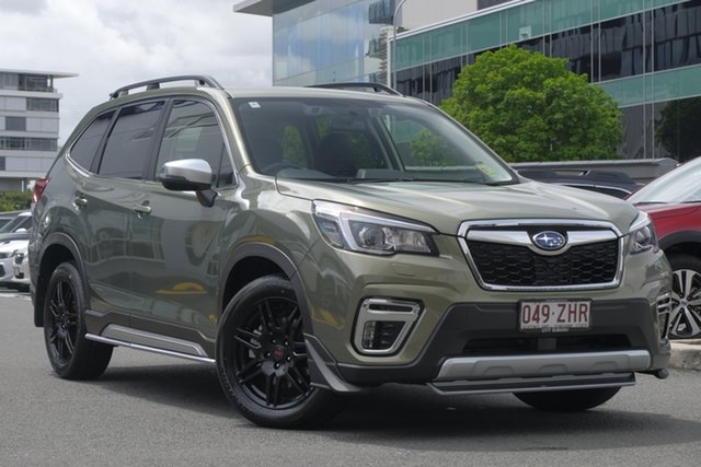 Demo Subaru Forester S5 MY20 2.5i-S CVT AWD, 2019 Subaru Forester S5 MY20 2.5i-S CVT AWD Jasper Green Metallic 7 Speed Constant Variable Wagon