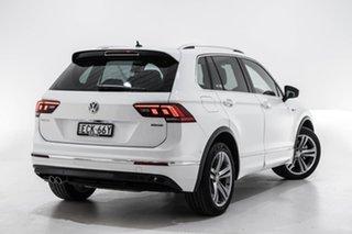 2019 Volkswagen Tiguan 5N MY19.5 132TSI DSG 4MOTION R-Line Edition White 7 Speed.