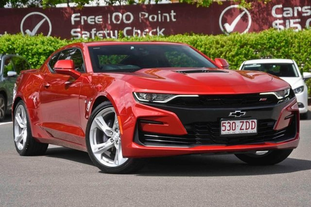Used Chevrolet Camaro MY19 2SS, 2019 Chevrolet Camaro MY19 2SS Red 10 Speed Sports Automatic Coupe