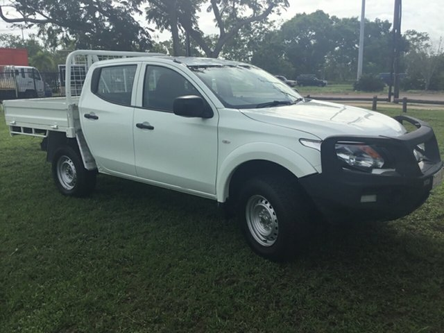 Used Mitsubishi Triton MQ MY16 Upgrade GLX (4x4), 2017 Mitsubishi Triton MQ MY16 Upgrade GLX (4x4) White 5 Speed Automatic Dual Cab Utility