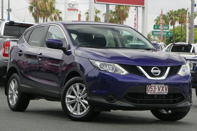 Used Nissan Qashqai J11 ST, 2015 Nissan Qashqai J11 ST Ink Blue 1 Speed Constant Variable Wagon