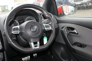 2013 Volkswagen Polo 6R MY14 GTI DSG Red 7 Speed Sports Automatic Dual Clutch Hatchback