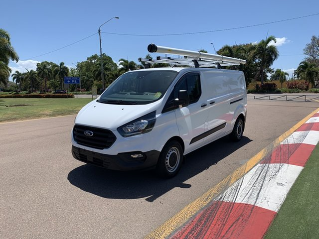 Used Ford Transit Custom VN 2019.75MY 340L Low Roof LWB, 2019 Ford Transit Custom VN 2019.75MY 340L Low Roof LWB Frozen White 6 Speed Automatic Van
