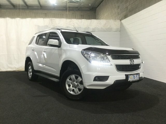 Used Holden Colorado 7 RG MY16 LT, 2016 Holden Colorado 7 RG MY16 LT Summit White 6 Speed Sports Automatic Wagon
