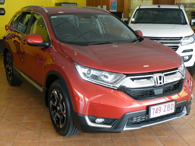 Used Honda CR-V RW MY19 VTi-S 4WD, 2019 Honda CR-V RW MY19 VTi-S 4WD Passion Red 1 Speed Constant Variable Wagon