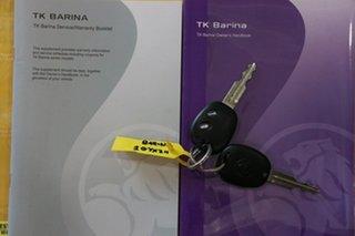 2010 Holden Barina TK MY10 Maroon 4 Speed Automatic Sedan