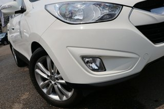 2012 Hyundai ix35 LM2 Highlander AWD White 6 Speed Sports Automatic Wagon.