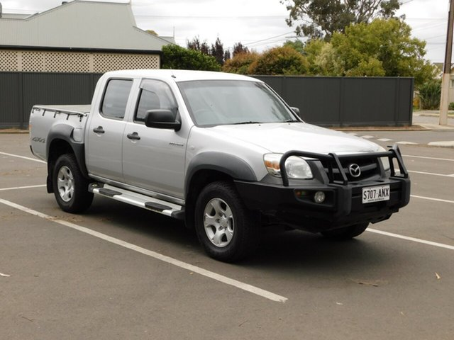Used Mazda BT-50 UNY0E4 DX, 2009 Mazda BT-50 UNY0E4 DX Silver 5 Speed Automatic Utility