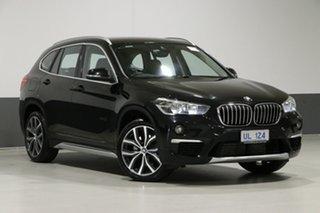 2018 BMW X1 F48 MY18 xDrive 25I Black 8 Speed Automatic Wagon.