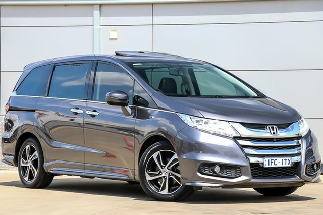 Used Honda Odyssey RC MY16 VTi-L, 2015 Honda Odyssey RC MY16 VTi-L Modern Steel 7 Speed Constant Variable Wagon