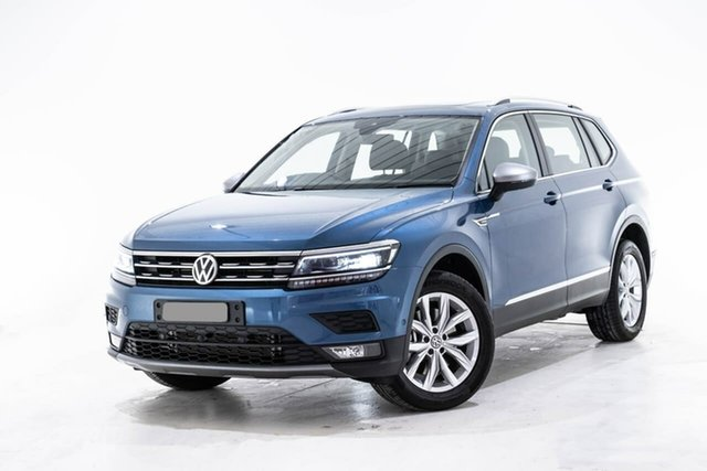 Used Volkswagen Tiguan 5N MY19.5 132TSI Comfortline DSG 4MOTION Allspace, 2019 Volkswagen Tiguan 5N MY19.5 132TSI Comfortline DSG 4MOTION Allspace Blue 7 Speed