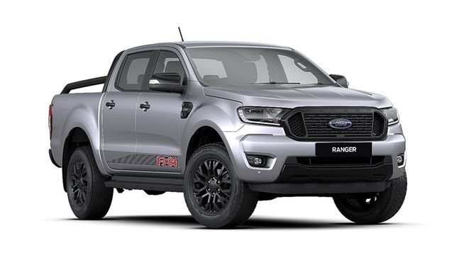 New Ford Ranger PX MkIII 2020.25MY FX4 Pick-up Double Cab, 2020 Ford Ranger PX MkIII 2020.25MY FX4 Pick-up Double Cab Aluminium 6 Speed Sports Automatic