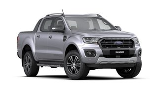 2020 Ford Ranger PX MkIII 2020.75MY Wildtrak Silver 6 Speed Sports Automatic Double Cab Pick Up