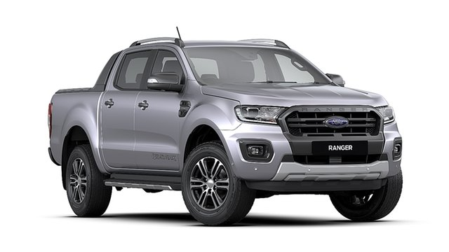 New Ford Ranger PX MkIII 2020.75MY Wildtrak, 2020 Ford Ranger PX MkIII 2020.75MY Wildtrak Aluminium 10 Speed Sports Automatic Double Cab Pick Up
