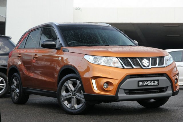 Used Suzuki Vitara LY RT-S 2WD, 2016 Suzuki Vitara LY RT-S 2WD Orange & Black Roof 6 Speed Sports Automatic Wagon