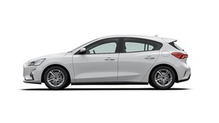 2020 Ford Focus SA 2020.25MY Trend Frozen White 8 Speed Automatic Hatchback.