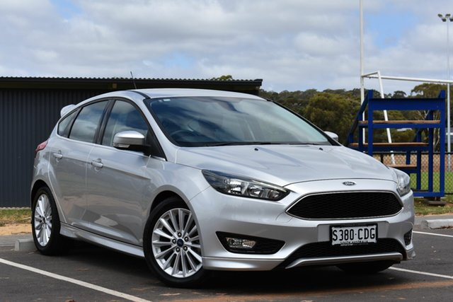 Used Ford Focus LZ Sport, 2016 Ford Focus LZ Sport Silver 6 Speed Manual Hatchback