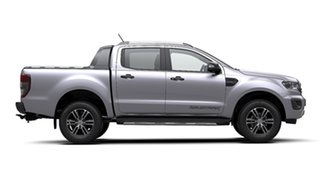 2020 Ford Ranger PX MkIII 2020.75MY Wildtrak Silver 6 Speed Sports Automatic Double Cab Pick Up.