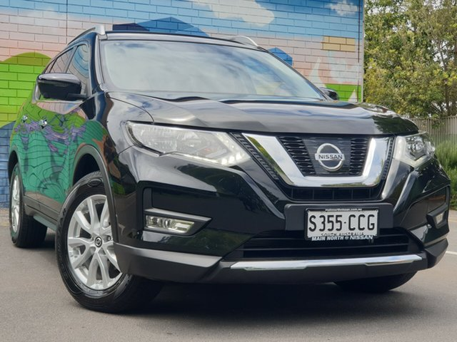Used Nissan X-Trail T32 Series II ST-L X-tronic 2WD, 2018 Nissan X-Trail T32 Series II ST-L X-tronic 2WD Diamond Black 7 Speed Constant Variable Wagon