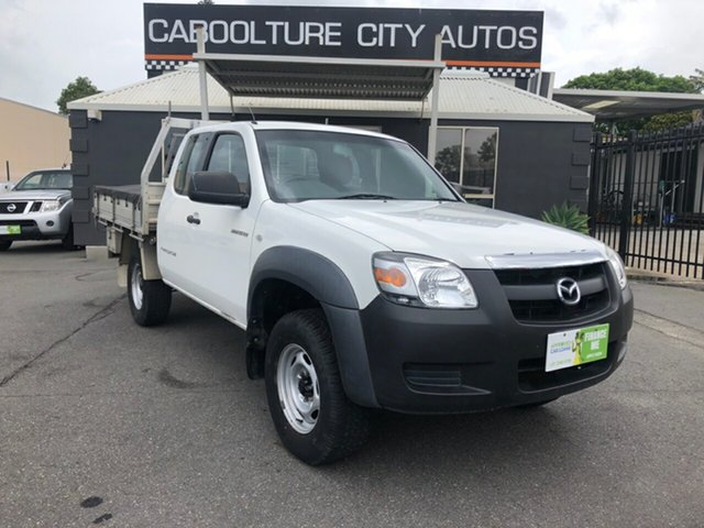 Used Mazda BT-50  B3000 Freestyle DX+, 2008 Mazda BT-50 B3000 Freestyle DX+ White 5 Speed Manual Cab Chassis