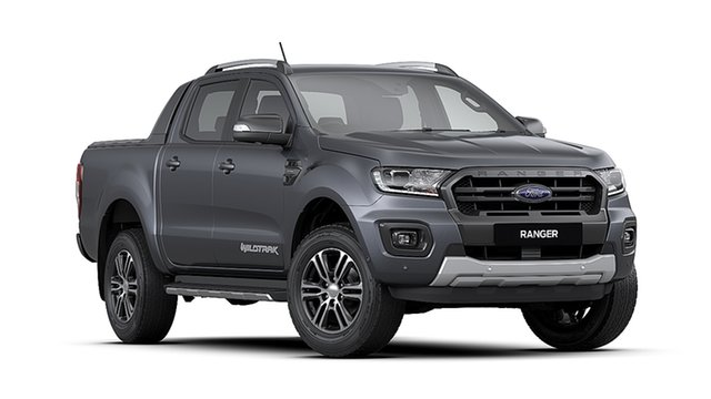 New Ford Ranger PX MkIII 2020.75MY Wildtrak, 2020 Ford Ranger PX MkIII 2020.75MY Wildtrak Meteor Grey 6 Speed Sports Automatic Double Cab Pick Up