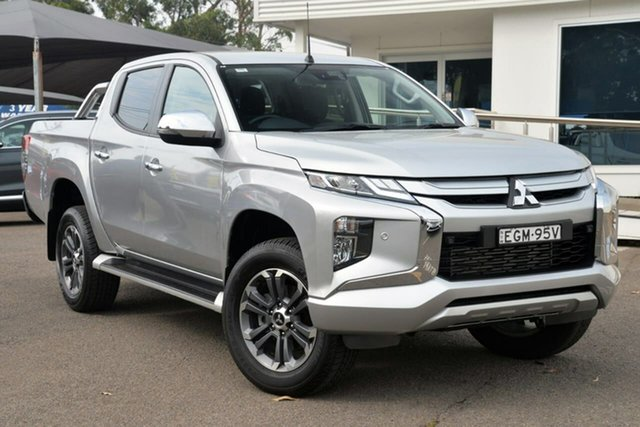 Used Mitsubishi Triton MR MY19 GLS Double Cab, 2018 Mitsubishi Triton MR MY19 GLS Double Cab Silver 6 Speed Sports Automatic Utility