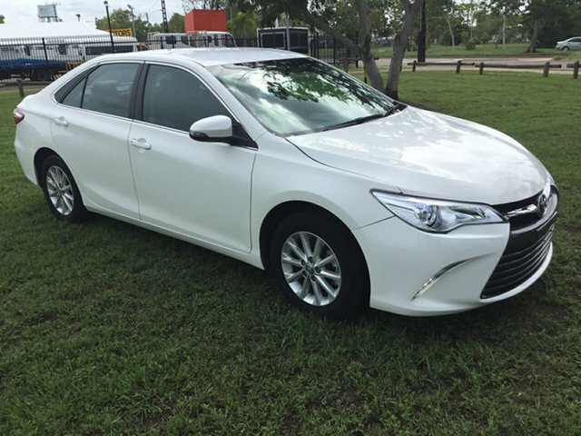 Used Toyota Camry ASV50R MY16 Altise, 2017 Toyota Camry ASV50R MY16 Altise White 6 Speed Automatic Sedan