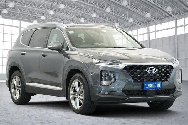 Used Hyundai Santa Fe TM MY19 Highlander, 2019 Hyundai Santa Fe TM MY19 Highlander Rain Forest 8 Speed Sports Automatic Wagon