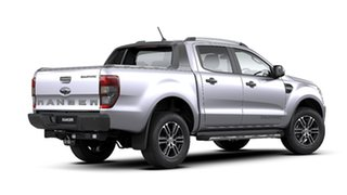2020 Ford Ranger PX MkIII 2020.25MY Wildtrak Aluminium 6 Speed Sports Automatic Double Cab Pick Up.