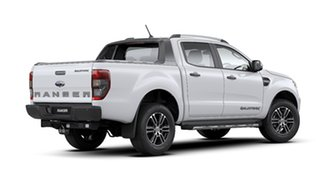 2020 Ford Ranger PX MkIII 2020.25MY Wildtrak Arctic White 10 Speed Sports Automatic.