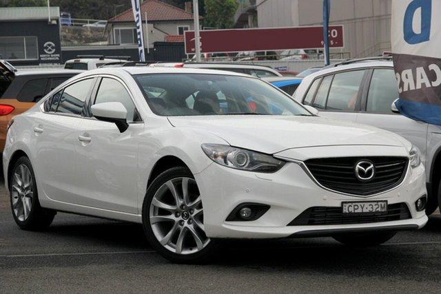 Used Mazda 6 GJ1021 GT SKYACTIV-Drive, 2013 Mazda 6 GJ1021 GT SKYACTIV-Drive Pearl White 6 Speed Sports Automatic Sedan