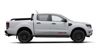 2019 Ford Ranger PX MkIII 2020.25MY FX4 Pick-up Double Cab Arctic White 6 Speed Sports Automatic.