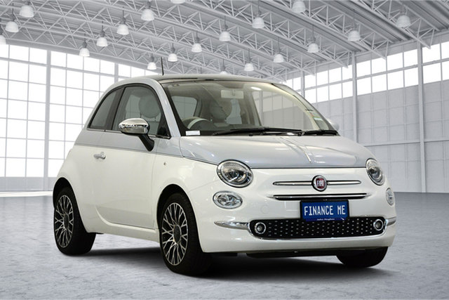 Used Fiat 500 Series 6 Collezione Fall/Winter Edition Dualogic, 2019 Fiat 500 Series 6 Collezione Fall/Winter Edition Dualogic White 5 Speed