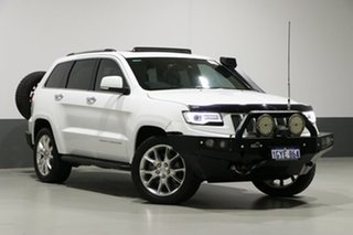 2014 Jeep Grand Cherokee WK MY14 Summit (4x4) White 8 Speed Automatic Wagon.