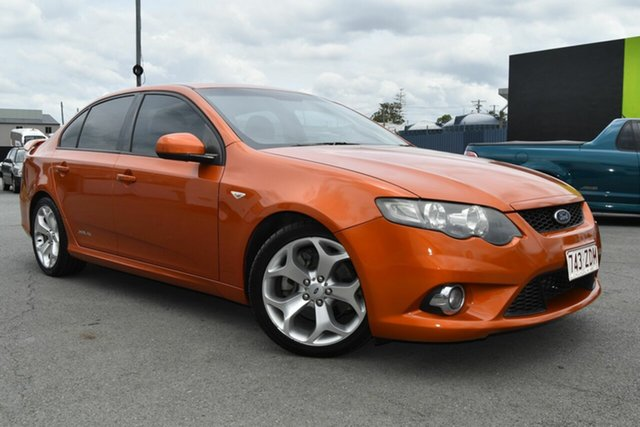 Used Ford Falcon FG Upgrade XR6T, 2011 Ford Falcon FG Upgrade XR6T Gold 6 Speed Manual Sedan