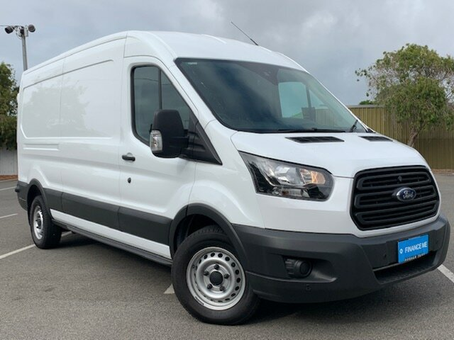 Used Ford Transit VO 350L Mid Roof LWB, 2017 Ford Transit VO 350L Mid Roof LWB Frozen White 6 Speed Automatic Van