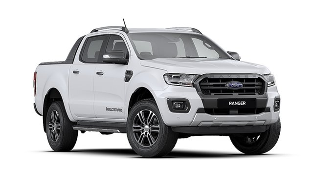 New Ford Ranger PX MkIII MY20.75 Wildtrak 2.0 (4x4), 2020 Ford Ranger PX MkIII MY20.75 Wildtrak 2.0 (4x4) Arctic White 10 Speed Automatic