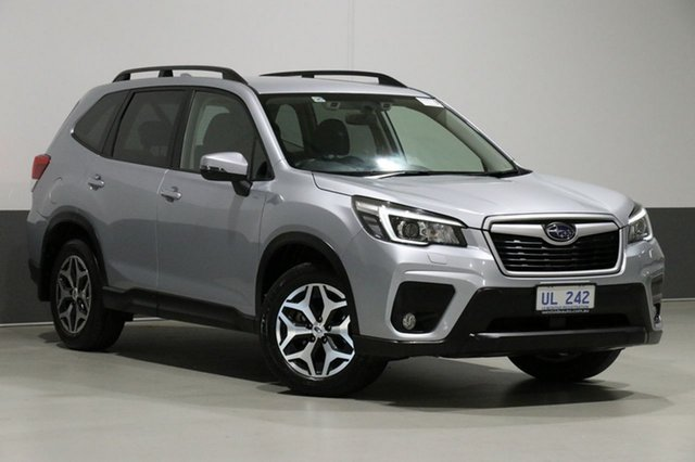 Used Subaru Forester MY19 2.5I (AWD), 2018 Subaru Forester MY19 2.5I (AWD) Ice Silver Continuous Variable Wagon