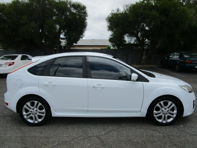 Used Ford Focus LV MY11 Zetec, 2011 Ford Focus LV MY11 Zetec 4 Speed Automatic Hatchback