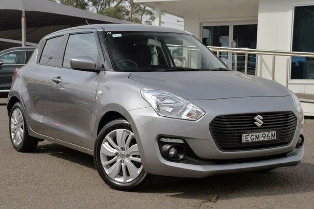 Used Suzuki Swift AZ GL Navigator, 2018 Suzuki Swift AZ GL Navigator Grey 1 Speed Constant Variable Hatchback